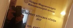 Kispesté a főváros fődíja a Virágos Magyarországért versenyben