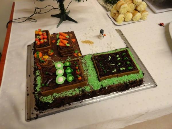 cake garden - aranykatica kert