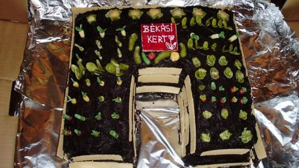 cake garden- bekasikert