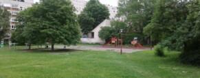 Tervek az Óbudai Kulturális Központ kertjére