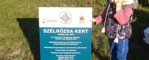 Szélrózsa kert átadó ünnepség